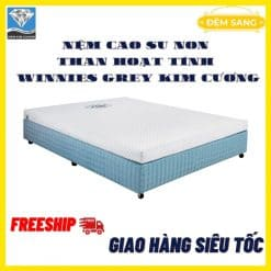Nem Cao Su Non Winnies Grey Kim Cuong 31